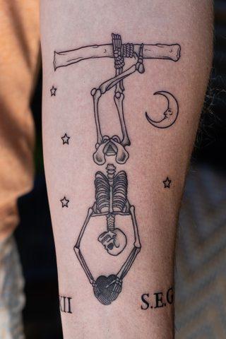 Andrew Hulbert Storyville Tattoo Studio